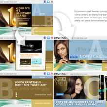 P&G/Pantene: Rich Media/Ecommerce Shelf Header Concept