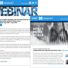 EMC XtremIO: Marketo-based Email Template System & Campaigns