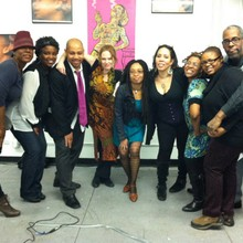 motivateArt Founder Jennifer Heslop as General Manager with Urban Erotika at ImageNation in Harlem, NYC