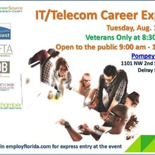 IT/Telecom Career Expo - August 18, 2015