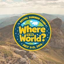 2016 Summer Camp - Where In the World?