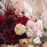 Ombre Bouquet - Heirloom Snaps Photography