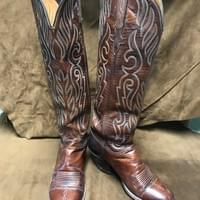 Original Lucchese vintage boots $400.00