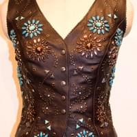 Wildflower Short Vest $350.00 + shipping