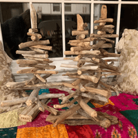 Custom Driftwood Christmas Trees