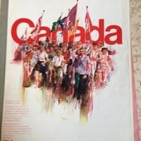 "The original ""Canada"" sheet music, which broke all records for sheet-music sales in Canada"