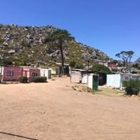 A local shanty town