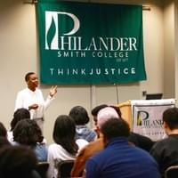 Social Justice Event at Philander Smith College