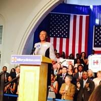 Introducing Hillary Clinton at Grassroots Meeting at Philander Smith College