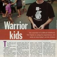 Tim Tipene Warrior Kids