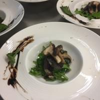 Into the Woods • Forest mushroom salad