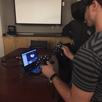 Brain Virtual Reality Navigation