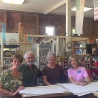 The friendly team of antiques experts here at Whistlestop Antiques in Santa Rosa