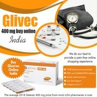 "Glivec 400 Mg Buy Online India is only available with a doctor's prescription At https://www.worldtrustpharmacy.co/glivec-400-mg/  Find Us: https://goo.gl/maps/iddXUDQfzkJ2  Deals in .....  eliquis 5 mg price in india glivec 400 mg buy online india deferiprone brands in india why is xifaxan so expensive entecavir generic price in india janumet xr price in india buy generic atripla online  It is used in treating chronic myelogenous leukemia (CML), gastrointestinal stromal tumors (GISTs) and other cancers. It is the first member of a new class of agents that act by specifically inhibiting a certain enzyme that is characteristic of a particular cancer cell, rather than non-specifically inhibiting and killing all rapidly dividing cells. In CML Glivec 400 Mg Buy Online India, the enzyme tyrosine kinase is stuck in the ""on"" position. Imatinib binds to the site of tyrosine kinase activity, and prevents its activity.  Social---  https://www.crunchyroll.com/user/trustgenerics http://ttlink.com/trustgenerics http://www.pearltrees.com/trustgenerics https://www.facebook.com/pages/Tenvir-em-vs-truvada/1911592795744907"