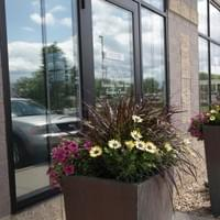 Front entrance of Tranquility Spa Salon in Brooklyn Park, MN