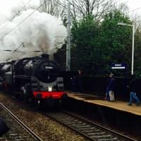 The Age of Steam Come to Woodsmoor Station