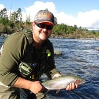 Fly fishing the Taupo region and Tongariro river with fly fishing guide Adam Priest