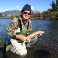 Guided fly fishing Taupo and Taranaki with guide Adam Priest
