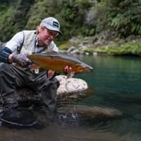 Taupo and Turangi fly fishing guide Adam Priest