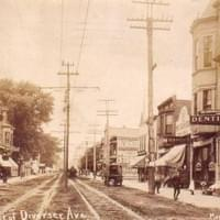 Milwaukee and Diversey in 1900