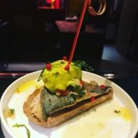 台北tapas酒吧, Mackerel fish with guamacole Ice cream