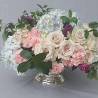 Roses_and_Hydrangea_Centerpiece_Dallas_Texas