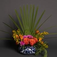 Mexican floral centerpiece  for luncheon party