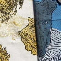 Original drawings printed on fabrics