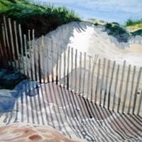 Lines in the Sand SOLD-Available in Giclee Prints