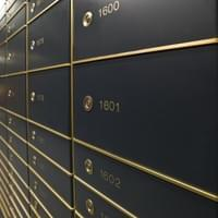 small safe deposit box