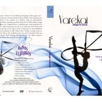 Layout design for the cover, back, and spine of a Cirque du Soleil DVD. Created for a college course.