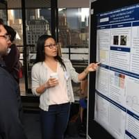 Lu Gao, winner of the Best Student Poster Prize