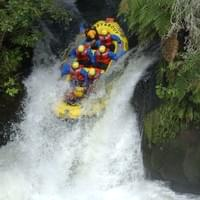 Whitewater rafting, NZ