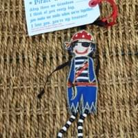 Fair Trade Pirate Grandson £6