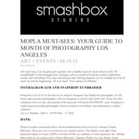 Press from Month of Photography Los Angeles