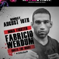 Event for MMA Client Fabricio Werdum in Las Vegas