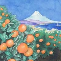 zart style 広告ページ(orange field - for a free digital magazine: http://aml-ebook.com/zartstyle/)