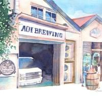 zart style 広告ページ (2nd anniversary of  aoi brewing)