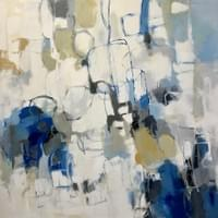 "Running in Circles - 48""x48"""