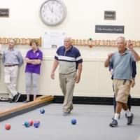 Bocce ball for corporate events