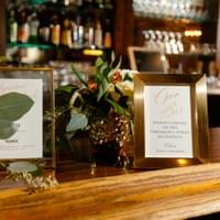 Full service bar and beautiful wedding venue