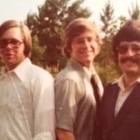 The Johnson brothers Neal, Stephen and Greg in 1976