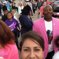 Como March for Breast Cancer Awareness