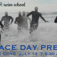 Swim clinic for open water racing