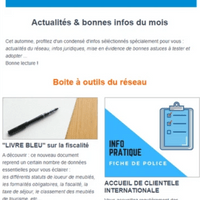 conception de newsletter