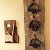 Cool Wall Hanging from Vintage Shoe Dies