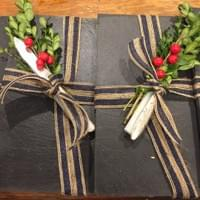 Reclaimed Slate Cheese Trays