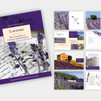 EDITION DE 80 PAGES SUR LA LAVANDE (AVEC ILLUSTRATIONS)