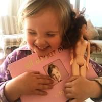 tot book and barbie cuddles