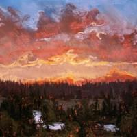 September Sunset--McCall - sold
